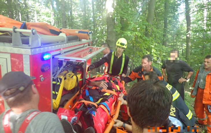 Paraglidista havaroval do stromů, skončil v nemocnici