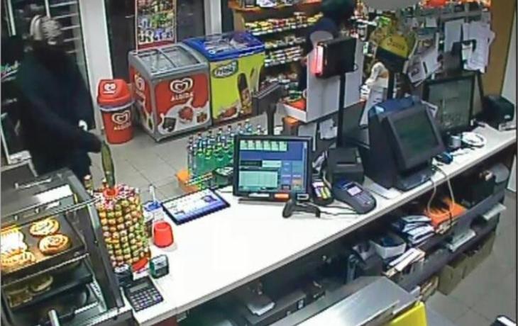 Opilý vyloupil benzinku, policii prchal jen 7 minut
