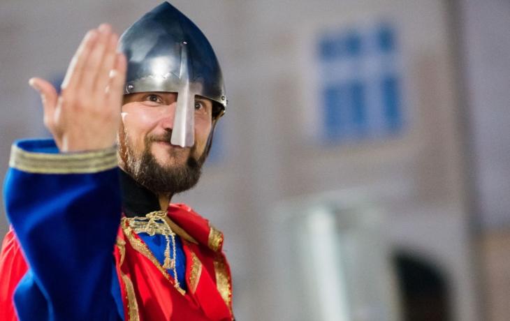 Kníže svatý Václav přijede do Napajedel