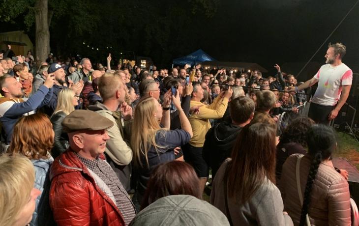 Koncert Tata Bojs se proměnil v taneční párty