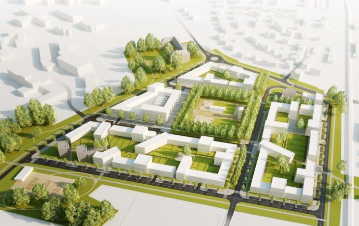 """""""Město ve městě"""" zná regulační plán, stavaři jsou však stále v nedohlednu"""