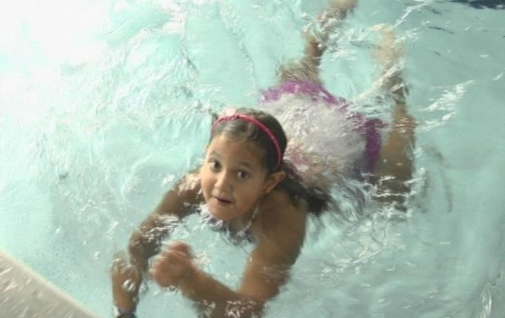 Hradiště vyhrálo plaveckou soutěž