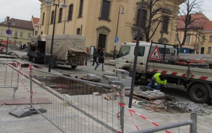 Termín padl, ale v centru Brodu se stále pracuje