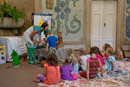 Prázdninová pondělí na zámku patří dětem
