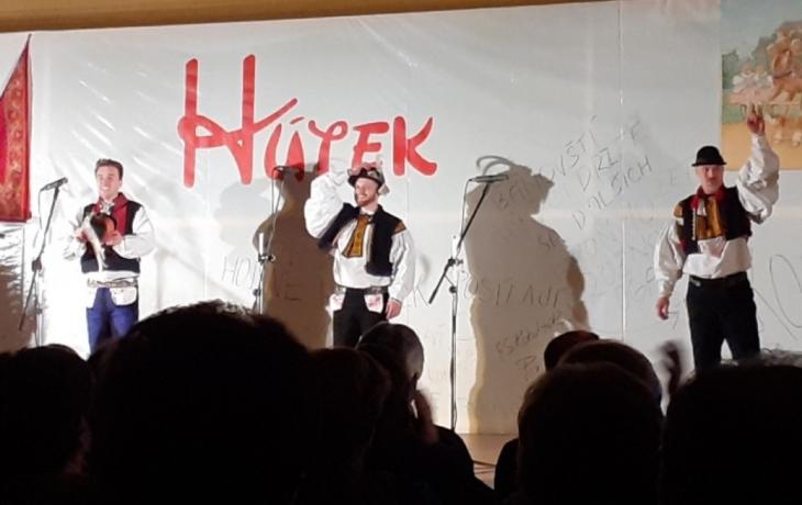 Desátým výročím FS Hútek odstartovaly hody v Bánově
