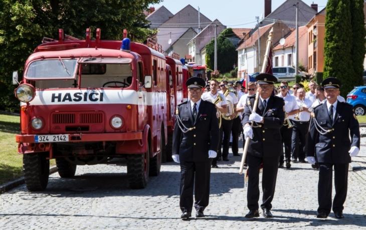Javorinka a hasiči společně oslavili 125 let od svého založení