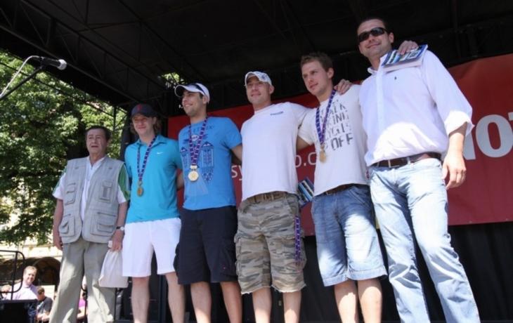 Zlatý hokejový víkend na Slovácku
