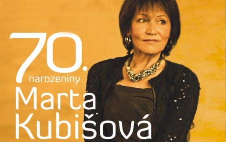 Sedmdesátiny přijede oslavit Marta Kubišová