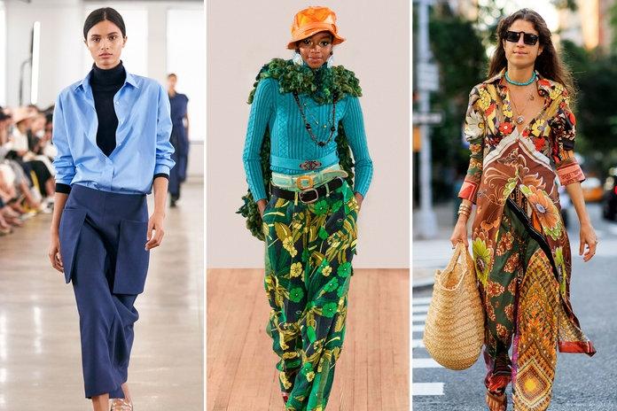 Modrá je dobrá, hlásí módní trendy
