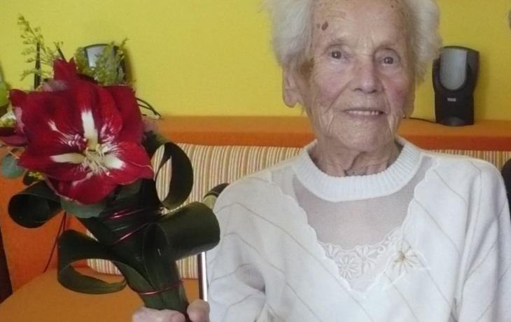 Františka Malinová oslavila 100 let