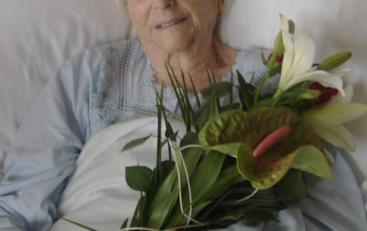 Františka Šuchmová oslavila 102. narozeniny