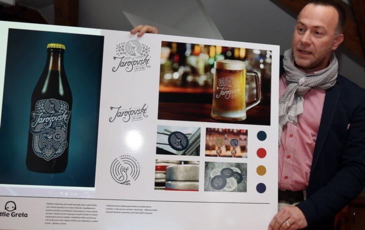 Jarošovský pivovar ožívá! Už představil své logo