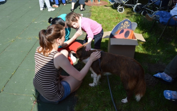 Zdravotně postižení v obležení psů