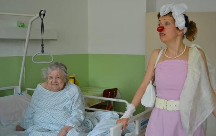 Zdravotní klauni hýřili vtipem a optimismem