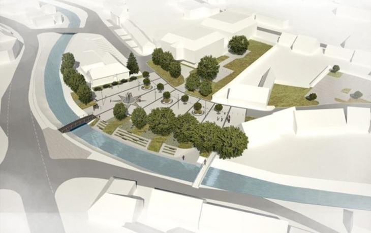 Bojkovice zahajují stavbu historicky prvního náměstí