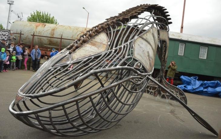 Kovozoo obohatila modrá velryba Gerda