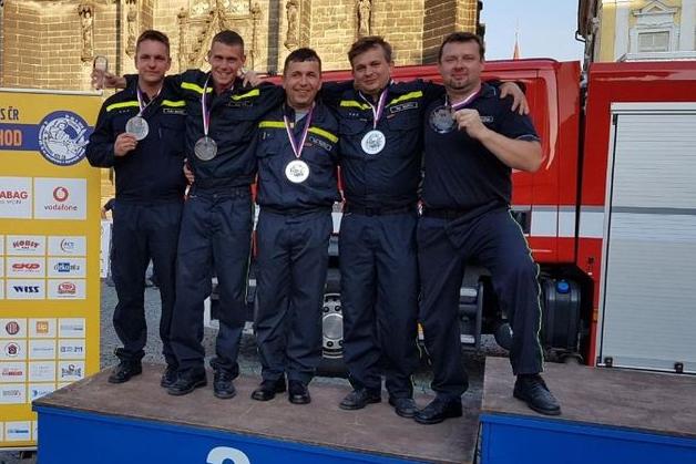 Brodští hasiči jsou druzí v republice
