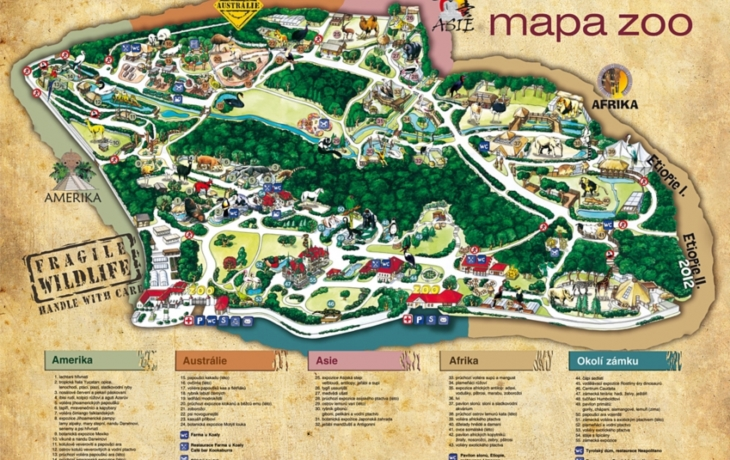 Zoopark v Lešné získal od školáků přes 120 tisíc!