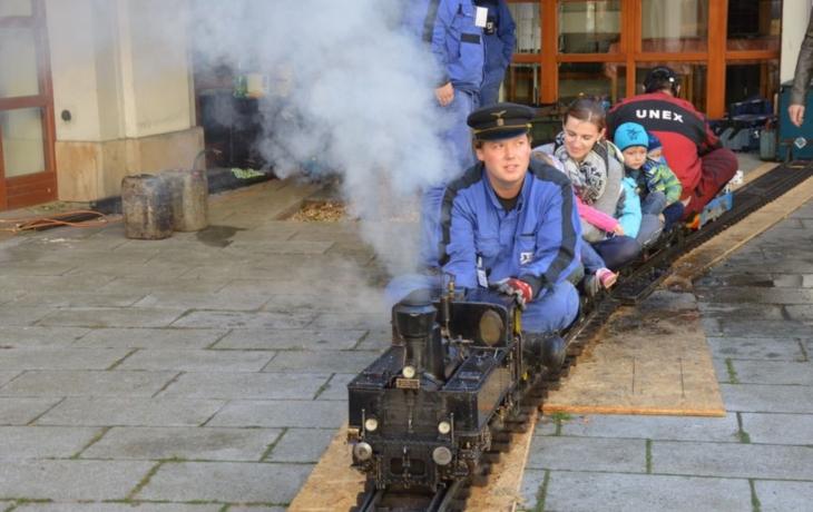 V Redutě vyrostla železnice
