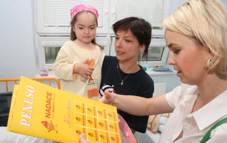 Dárky pro malé pacienty