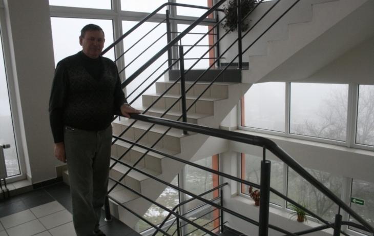 Místo výtahu ještě používají schodolez