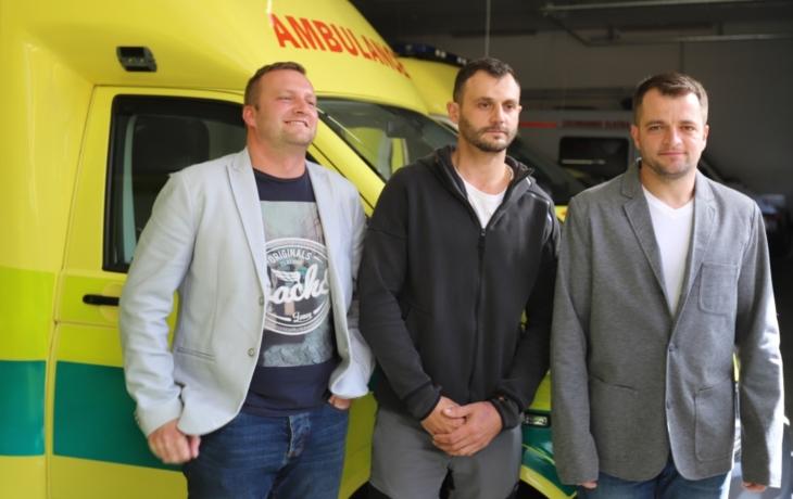 Andělé z D1 zachránili život dvěma lidem. Čeká je metál