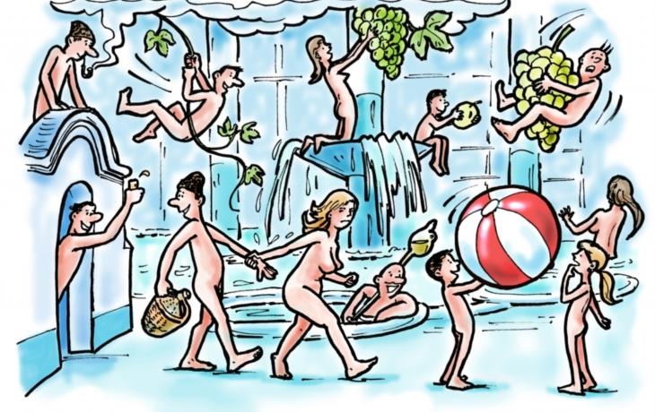Naháči obsadí aquapark! Orgiím zabrání přísná pravidla