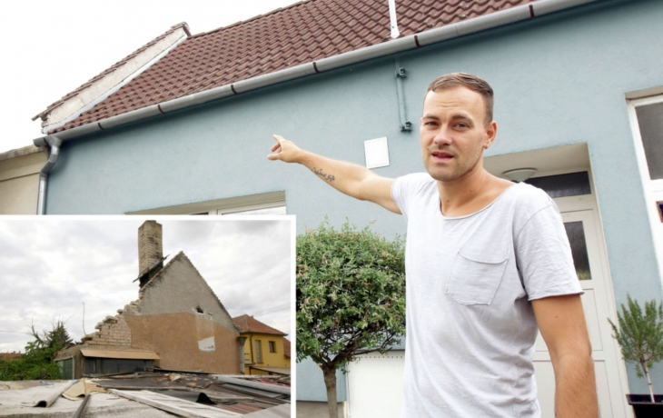 Naděje pro sousedy. Vyhořelý dům, kvůli kterému se šíří vlhkost a zápach, asi půjde k zemi!
