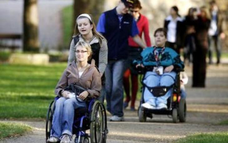 Starostu už navštíví i handicapovaní