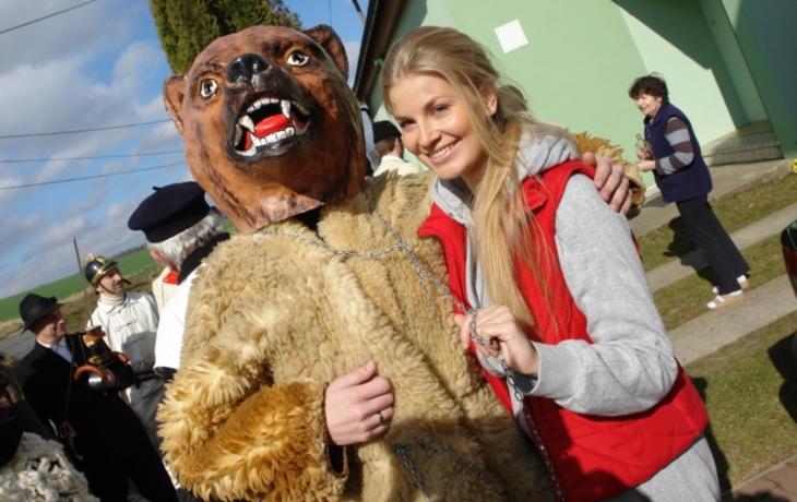 Moravská misska fašančáry bohatě pohostila