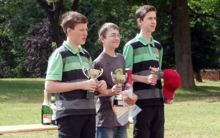 Discgolfista Vojtík má republikový bronz