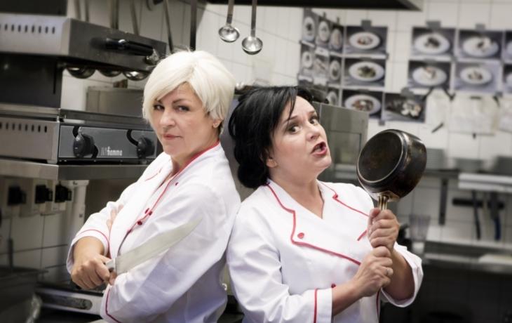 Čarodějnice se loučí s kuchyní