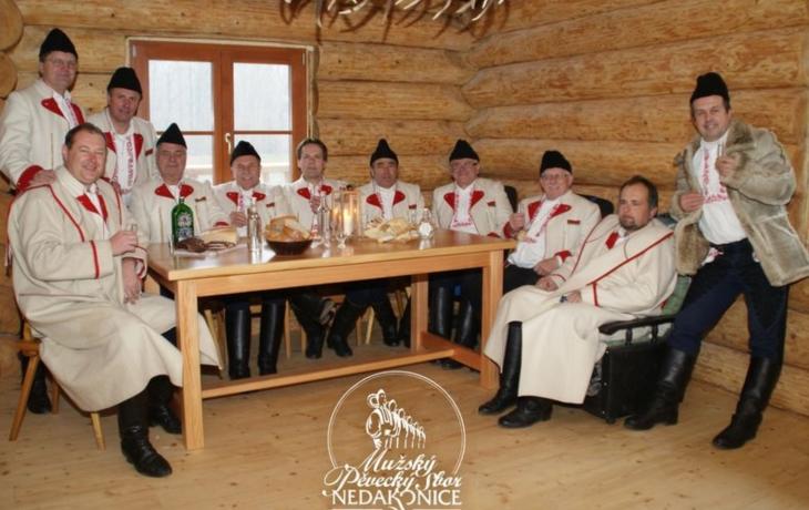 Mikulášské zpívání s oslavou jubilea mužského sboru