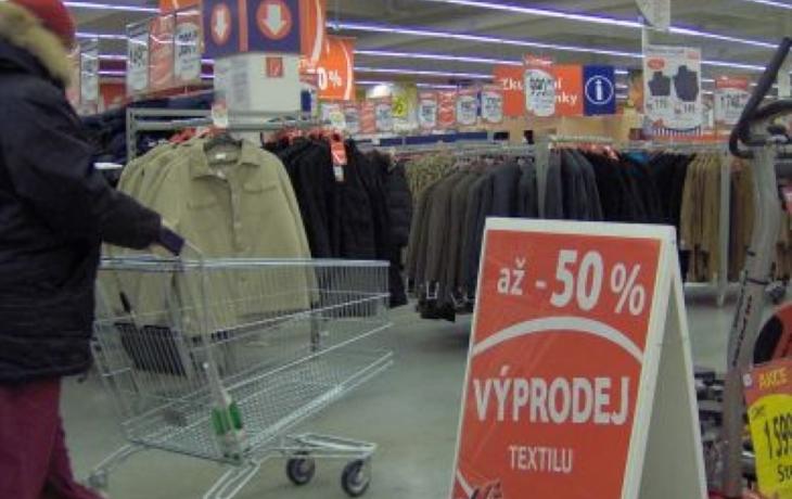 Krize se do nákupů moc nepromítla