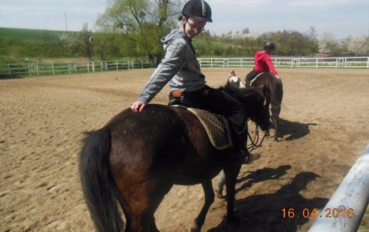 Dětem z domova pomáhali koně