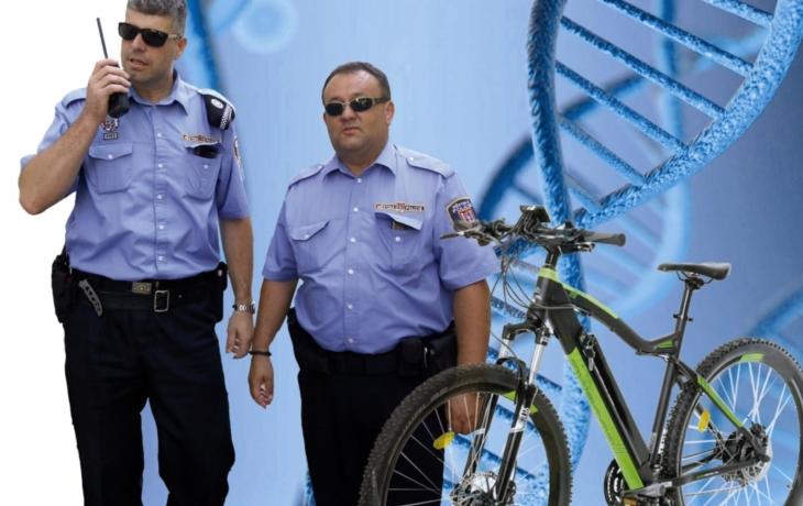 Strážníci chystají bič na zloděje kol. Bicykly označkují syntetickou DNA!