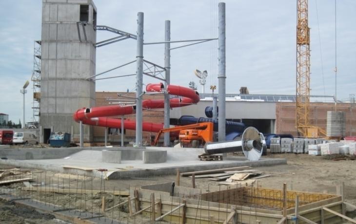 Aquapark bude, ale až v listopadu