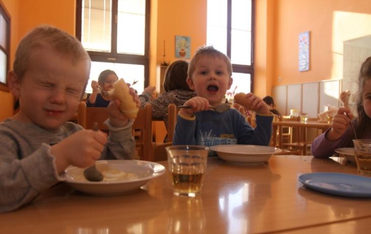 Hradiště má projekt na zdravé dětské stravování