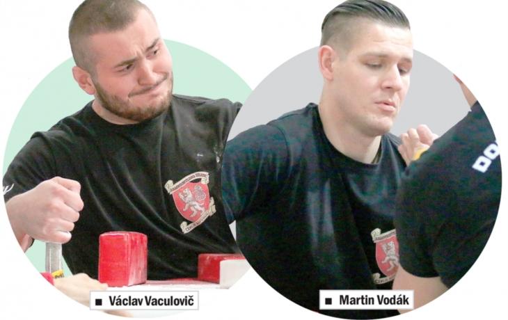 Golemova ruka postříbřila paže Vodákovi a Vaculovičovi