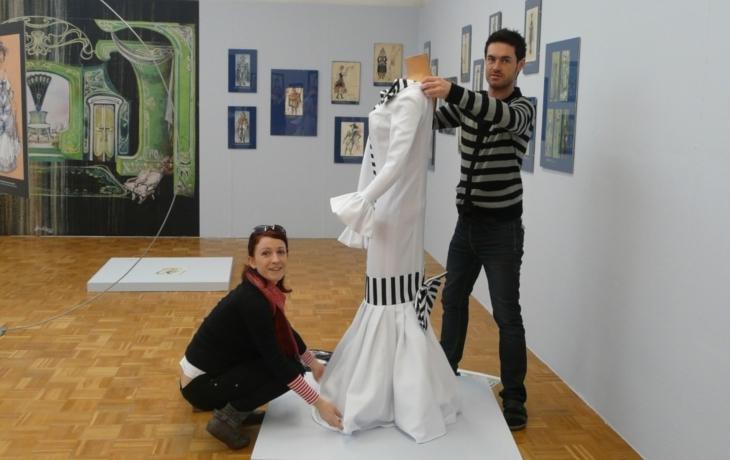 Kostýmy a scény Miloše Součka ve Slováckém muzeu