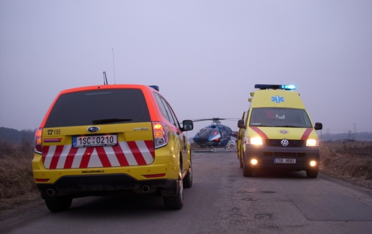Exploze v Bučníku: muže smetly kameny