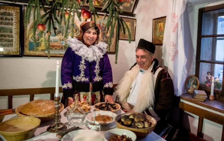 Před adventem se mystické postavy schází ve Vlčnově