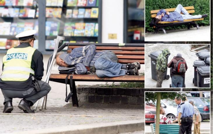 Zbraň proti bezdomovcům! Senátoři navrhují zákaz pobytu