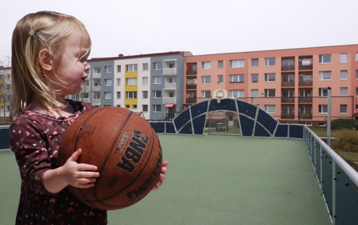 Východ se pyšní moderní sportovní arenou