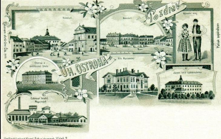 Výstava starých pohlednic z Ostrohu a okolí