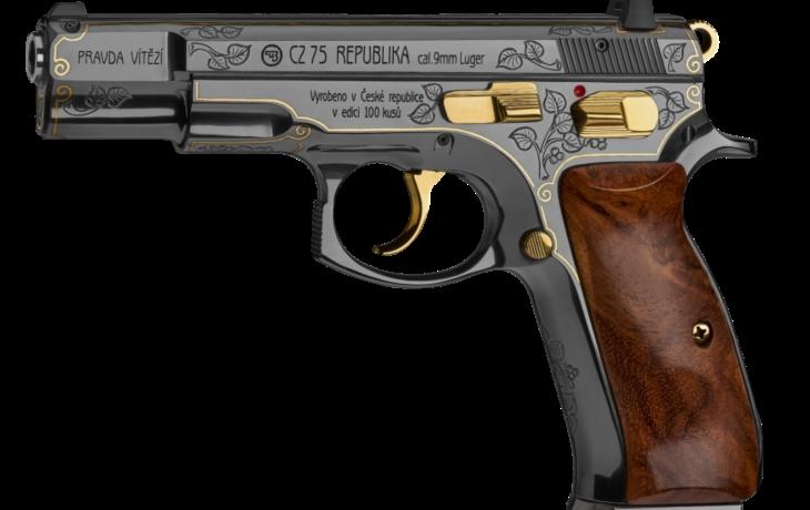 Babiš nechal koupit Trumpovi dárek ve zbrojovce