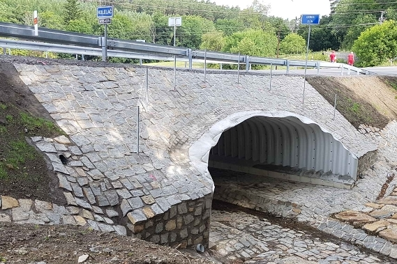 Most u Pitína zmizel, nový stál 16 milionů