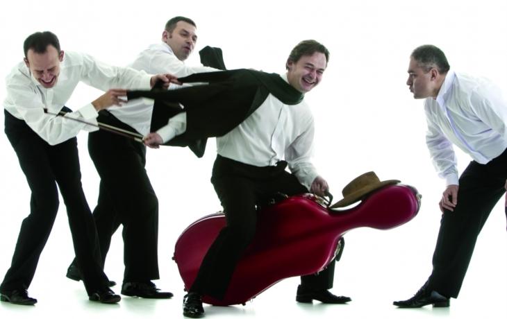 Kvarteto MozART Group po dvou letech ve Zlíně