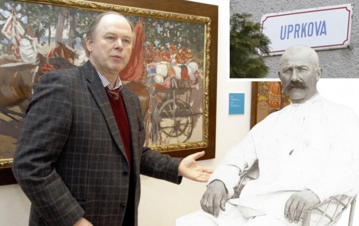 Skandál: Umělecký svět obdivuje Jožu Uprku. V Uherském Hradišti nemá ani ulici!