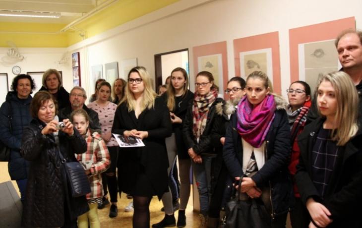Výstava fotografií v Tyršově galerii